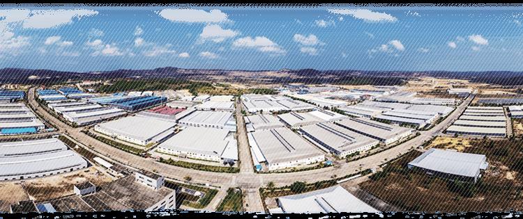 西哈努克省建起工業新區