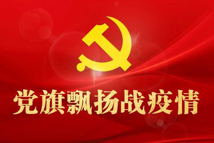 黨旗(qi)飄(piao)揚戰疫情